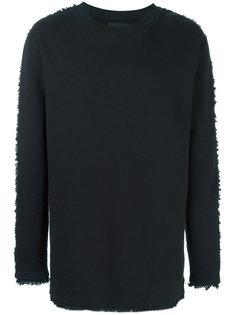 свитер с необработанными краями Blood Brother