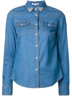 джинсовая рубашка с декорированным воротником Guild Prime