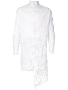 асимметричная жатая рубашка A New Cross