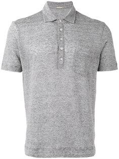рубашка-поло в полоску Massimo Alba