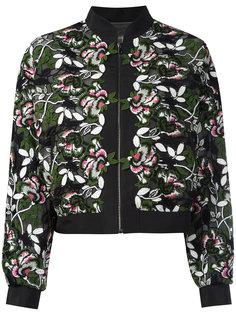 куртка с цветочной вышивкой Giambattista Valli