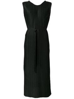 sleeveless pleated dress Christian Wijnants