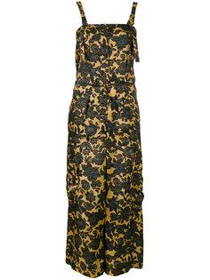 floral print jumpsuit Christian Wijnants