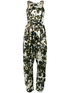 floral jumpsuit Christian Wijnants