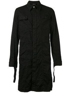 однобортное пальто Andrea Yaaqov