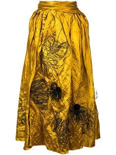 юбка с вышивкой Kalmar Roksanda