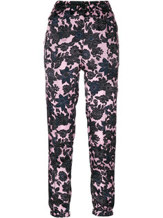 floral print trousers Christian Wijnants