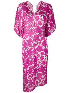 floral print dress Christian Wijnants