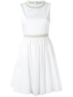 расклешенное платье без рукавов  Blugirl