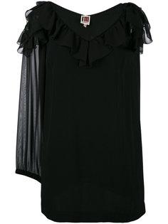 блузка с вырезами и оборками  IM Isola Marras