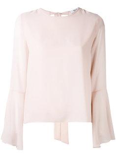 блузка с завязкой  Blugirl