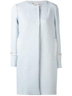 пальто с отделкой  Blugirl
