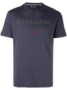 футболка с логотипом  Rossignol