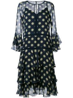 платье-шифт Alberta Ferretti
