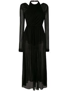 вечернее платье с запахом Emilio Pucci