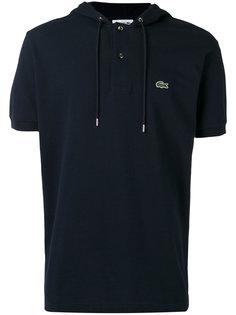 рубашка-поло с капюшоном Lacoste