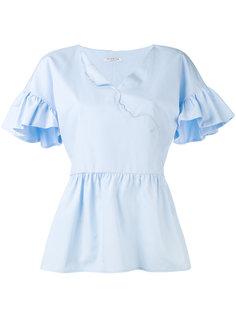 блузка с рюшами Vivetta