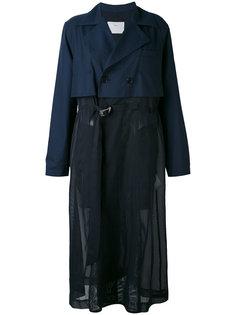 пальто с мягкими складками Toga
