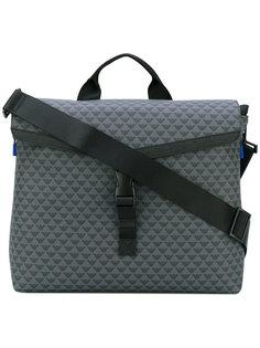 сумка-почтальонка с откидным верхом Emporio Armani