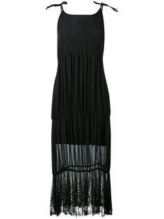 платье с кружевной отделкой Federica Tosi
