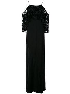 длинное платье Recollection  GINGER & SMART