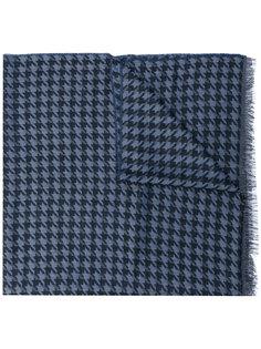 шарф с узором в ломаную клетку Lanvin