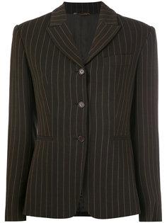pinstriped blazer Romeo Gigli Vintage