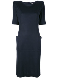 padded shoulder dress Emanuel Ungaro Vintage