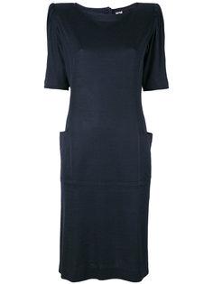 padded shoulder dress Emanuel Ungaro Vintage