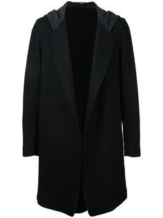 пальто с капюшоном Bassike