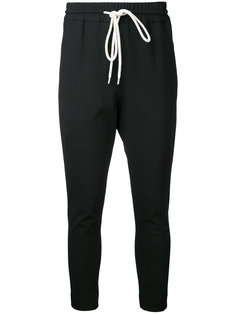 tapered joggers Bassike