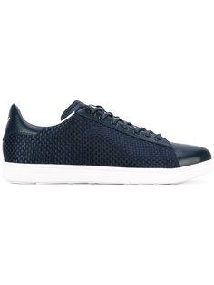 кроссовки с плетеными панелями Armani Jeans