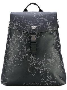 декорированный рюкзак Emporio Armani
