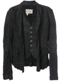 многослойная куртка Greg Lauren
