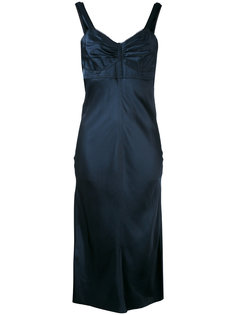 платье с верхом-бюстье Helmut Lang