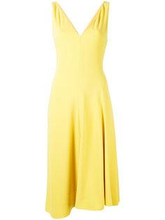 платье с асимметричным подолом Theory