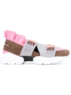 кроссовки с заклепками Emilio Pucci