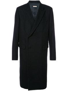 свободное двубортное пальто Marni