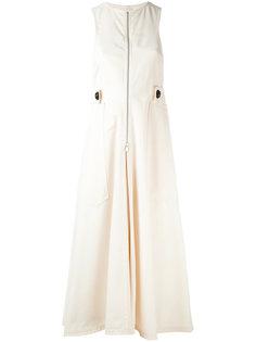 платье на молнии с ремешком Lemaire