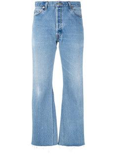 джинсы в стиле буткат Re/Done