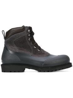 походные ботинки на шнуровке Salvatore Ferragamo