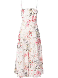 платье миди с цветочным принтом Zimmermann