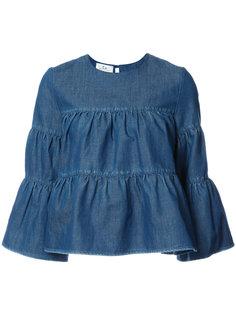 расклешенная блузка Co