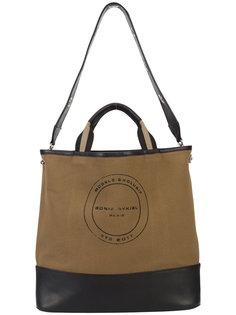 сумка-тоут с логотипом Sonia Rykiel