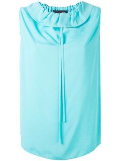 блузка с круглым вырезом Boutique Moschino