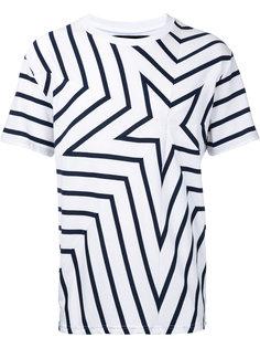 футболка с принтом звезды Yoshio Kubo