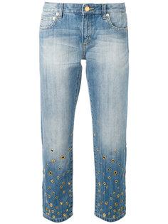 декорированные джинсы  Michael Michael Kors
