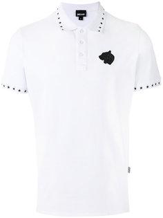 футболка-поло с принтом звезды Just Cavalli