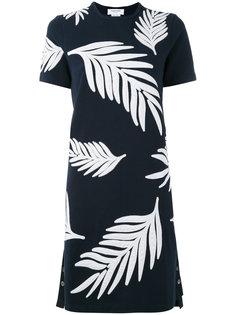 платье с принтом пальм Thom Browne