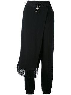 брюки с драпировкой Damir Doma